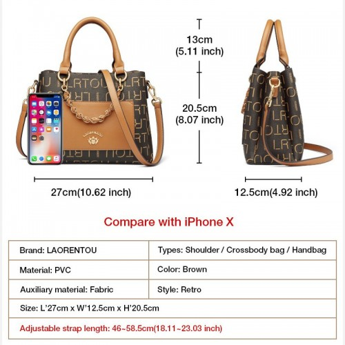 LAORENTOU Beautiful Office Lady Handbags