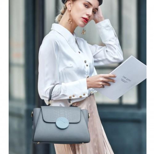 Zooler Comfortable Shoulder Leather Designer Handbag