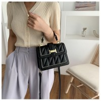 Versatile Square Sling Bag with Chain Strap