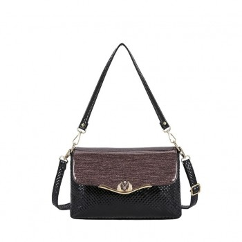 ANAMIDA Elegant Synthetic Leather Handbag