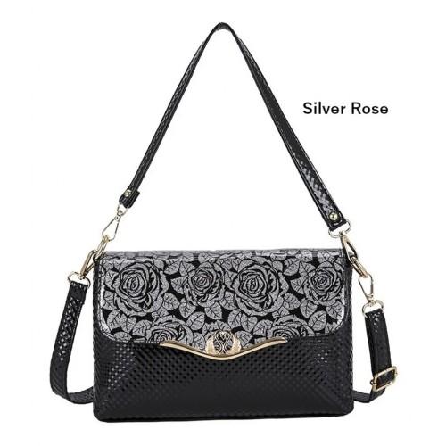 ANAMIDA Elegant Synthetic Leather Handbag