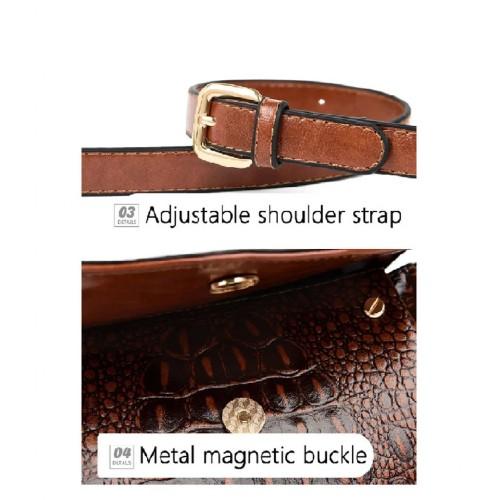 ANAMIDA High Quality Vintage Style Handbag