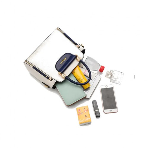 Versatile Small Bucket Shape Handbag