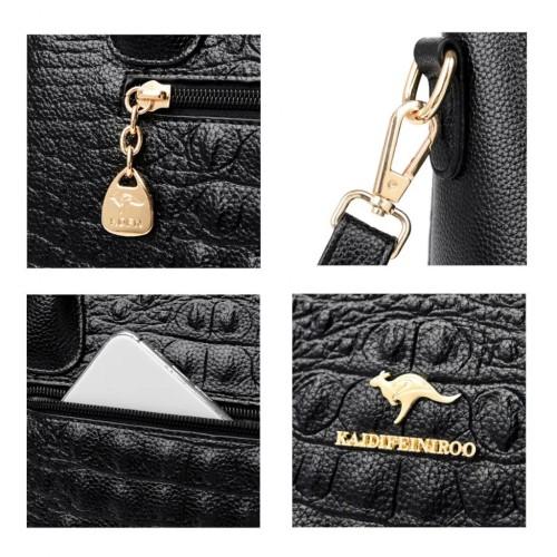 KAIDEFEINIROO Elegant Embossed Design Handbag