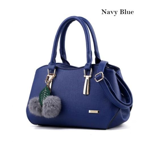 Beautiful Solid Pattern Versatile Handbag
