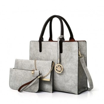 Three Pieces Handbags Large Capacity Soft Surface