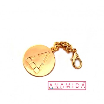 Exclusive Key Chain Anamida Round Shape