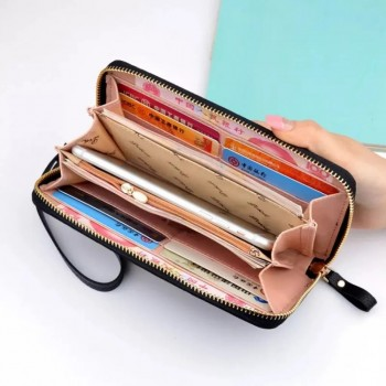 Fashion Zipper Purse Soft and Comfortable